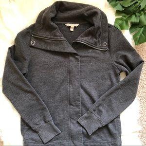 Banana Republic Gray Sweater Jacket  Small
